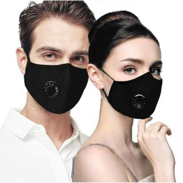 Dust Mask Breathing Filter Valve Mask Respirator Mouth Cover Anti Fog PM2.5 Washable Reusable Face Masks For Outdoor Riding