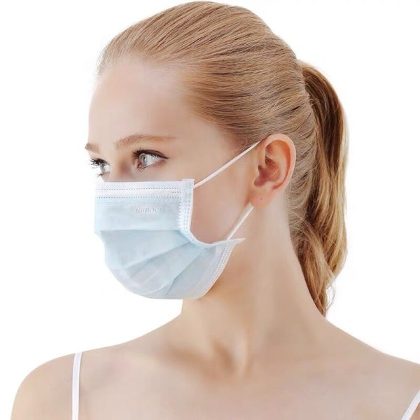 Disposable Mask 15 Pcs Protective Mask Anti-Dust disposable Safety Mask Elastic Face Mouth Mask Anti-Bacterial Influenza Barrier