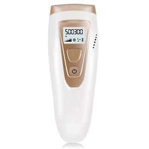 IPL Hair Remover for Women and Men, Permanent Hair Removal 500000 Flashes Painless IPL Facial and Body Hair Remover Device with 5 Settings, Including Professional Manual Book Easy to Use