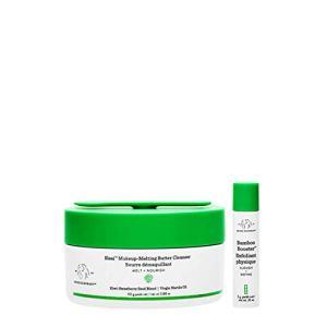 Drunk Elephant Slaai Makeup-Melting Butter Cleanser and Bamboo Booster. Innovative Makeup Removing Cleansing Balm that Melts Away Dirt, Makeup & Sunscreen. 3.88 Ounce.