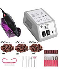 Professional Nail Drill Set Electric Nail Drill Machine Nail File Kit for Acrylic Nails Gel Nails Glazing Nail Art Polisher Sets, 20000RPM, for Women Girls Home Salon Use