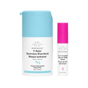 Drunk Elephant F-Balm Electrolyte Waterfacial. Quenching and Strengthening Overnight Mask.