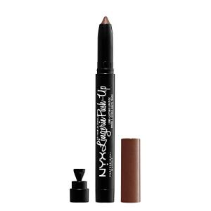 NYX PROFESSIONAL MAKEUP Lip Lingerie Push-up Long Lasting Lipstick, Teddy , 0.5 ounce