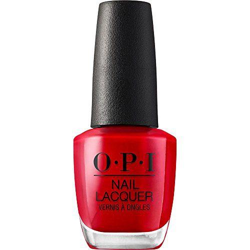 OPI Nail Polish, Nail Lacquer, Big Apple Red, Red Nail Polish, 0.5 Fl Oz