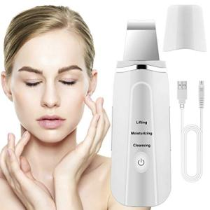 Fancytimes Skin Scrubber Face Remove Blackheads Skin Scrubber Cleaner Peeling Wrinkle Removal Machine Facial Beauty Device USB