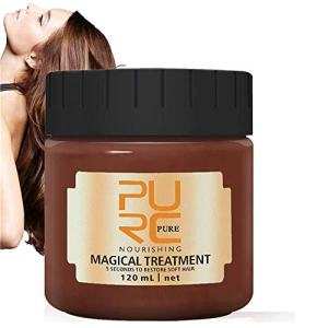 PURC Magical Treatment Hair Mask 120ML,2020 Advanced Molecular Hair Roots Treatment 5 Seconds Repairs Damage Hair Root Hair Tonic Keratin Hair & Scalp Treatment
