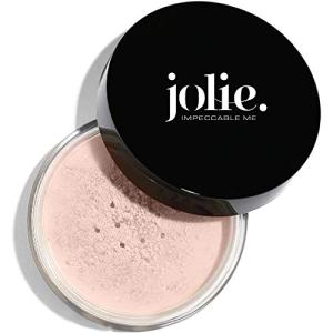Jolie Loose Translucent Face Powder - Ultra Fine, Silky Makeup Setting Powder (Nude 01A)