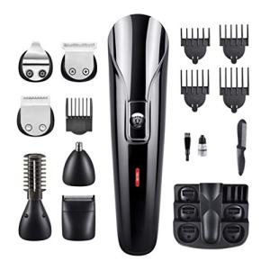 Exceart 1 Set Hair Clippers USB Charging Hair Cutting Trimmer Machine Self Hair Cutting Clippers Professional Hair Cutting Tool for Men Salon Adults