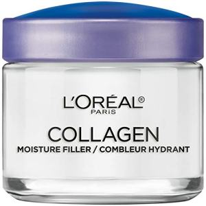 Collagen Face Moisturizer by L'Oreal Paris Skin Care I Day and Night Cream I Anti-Aging Face Cream to Smooth Wrinkles I Non-Greasy I 3.4 Ounce (Packaging May Vary)