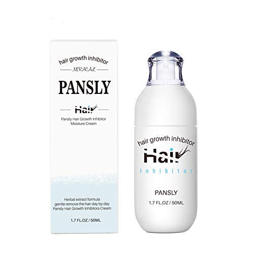 Hair Inhibitor,Hair Removal Spray Reducing to Stop Hair Growth, For men and women Mild Ingredient Non-Irritating Hair Removal Spray Depilatories Product(50ML)