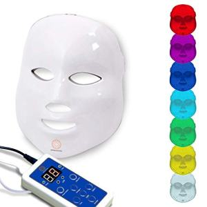Dermashine Pro 7 Color LED Mask for Face | Photon Red Light For Healthy Skin Rejuvenation Therapy | Collagen, Anti Aging, Wrinkles, Scarring | Korean Skin Care, Facial Skin CarDermashine Pro 7 Color LED Mask for Face | Photon Red Light For Healthy Skin Rejuvenation Therapy | Collagen, Anti Aging, Wrinkles, Scarring | Korean Skin Care, Facial Skin Care Mask, LED Face Maske Mask, LED Face Mask