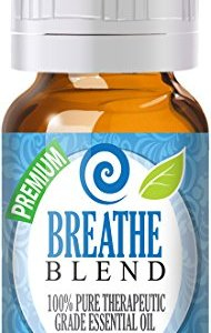 Breathe Blend Essential Oil - 100% Pure Therapeutic Grade Breathe Blend Oil - 10ml