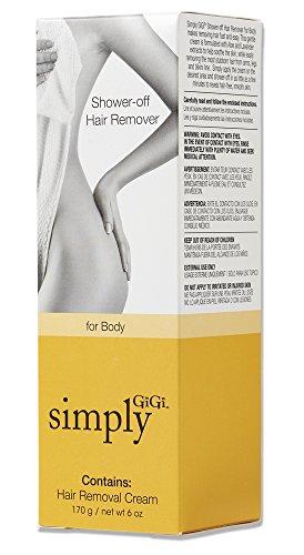 GiGi Shower-off Hair Removal Cream for the Body Simply GiGi Shower-off Hair Removal Cream for the Body, 6 oz