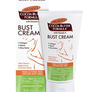 Palmer's Cocoa Butter Formula Bust Cream for Pregnancy Skin Care with Vitamin E | 4.4 oz. (Pack of 3)