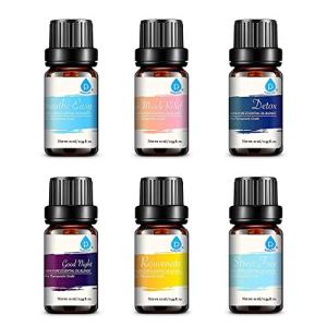 Pursonic 100% Pure Essential Oil Blends Gift Set, 0.55 Pound (611138326049)