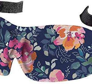 Bucky 40 Blinks No Pressure Beauty & Travel Eye Masks, Midnight Floral