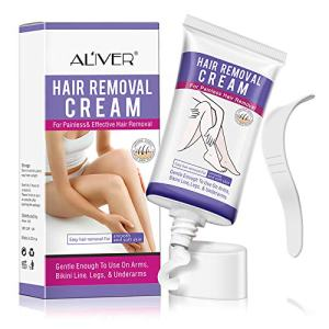 Hair Removal Cream, Skin Soft Hair Removal Cream Used on Bikini, Underarm, Chest, Back, Legs and Arms For Men or Women, Painless Cream Hair Removal, Easy to carry and keep your gorgeous