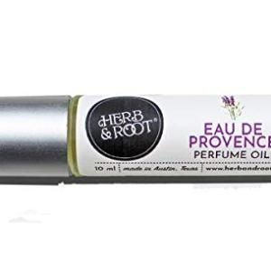 Lavender Bergamot Jasmine Perfume Oil for Women | Rollerball (Roll on) Fragrance | Herb and Root 10ml