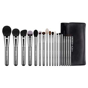 Professional Makeup Brush Set,Eigshow Makeup Brushes Perfect for Foundation Face Powder Blending Blush Bronzer Eyeliner Eye Shadow Brows with Case (PRO 18pcs Grey)