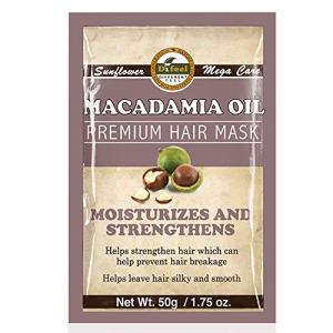 Difeel Premium Deep Conditioning Hair Mask - Macadamia Oil 1.75 ounce (2-Pack)