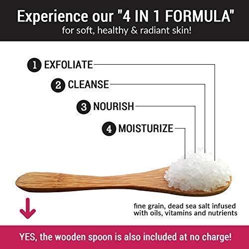pureSCRUBS Premium Organic Body Scrub Set - Large 16oz CITRUS Bundle Dimensions: 3.5 x 3.5 x 2.5 inches