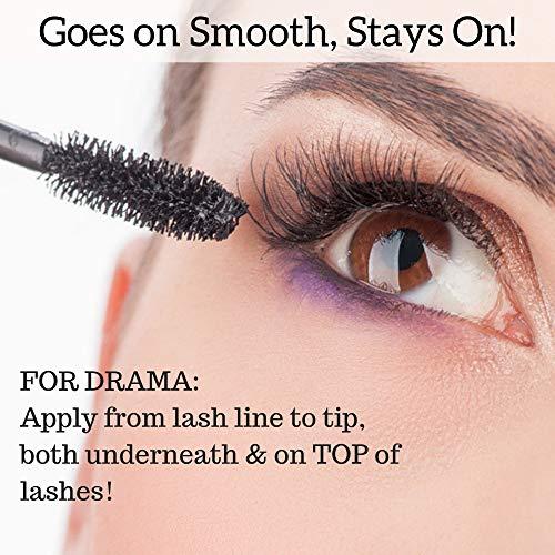 NaturLash Mineral Mascara BLACK | 100% Natural | Hypoallergenic Package deal Dimensions: 4.Zero x 0.eight x 4.Zero inches