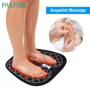 EMS Foot Massage Rechargeable USB Foldable EVA Massager Pad