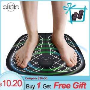Foot Massager Ems Wireless Foot Acupoint Massage Mat ABS Physiotherapy