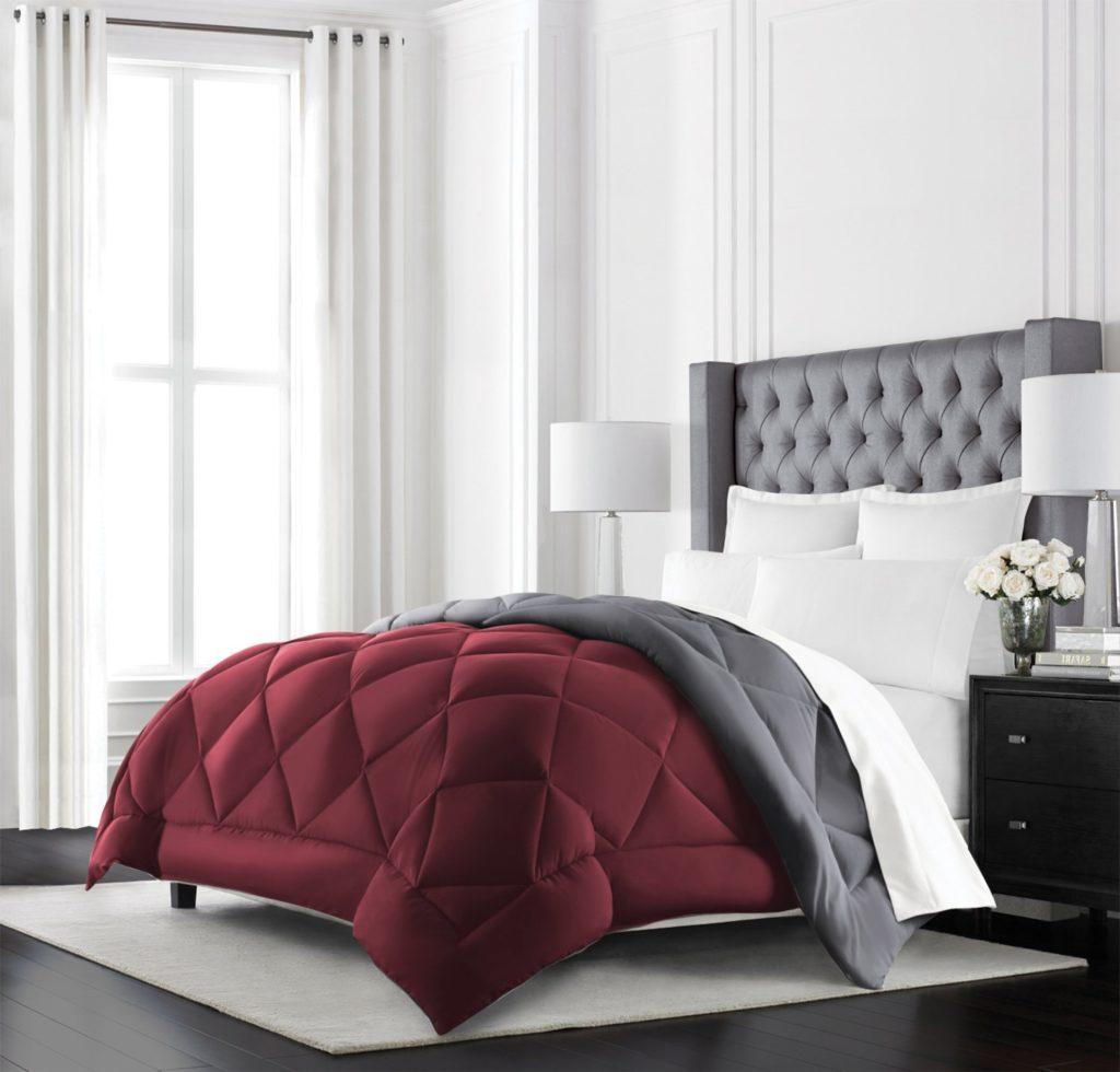Cal King Comforter Sets Red