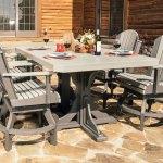 Adirondack Swivel Chair Luxcraft