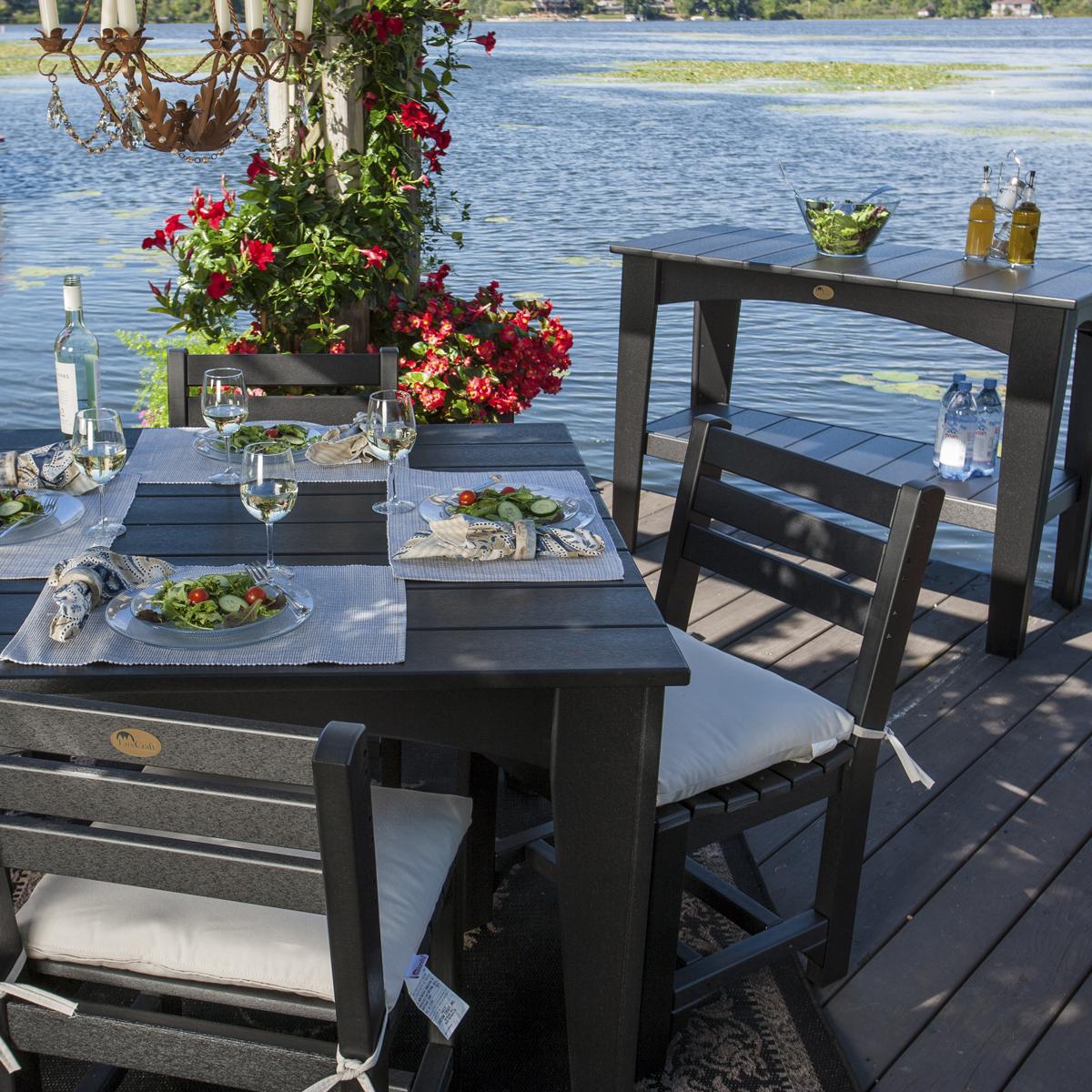 Island Buffet Table