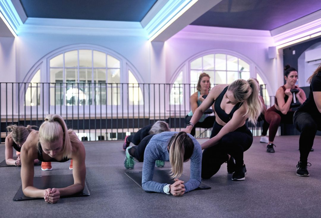 Luxe Fitness gym in Bristol offers beginner core training