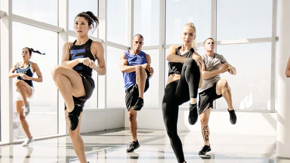 Body combat training from Luxe Fitness gym in Bristol