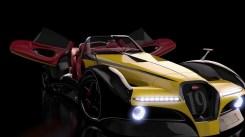 bugatti concept car