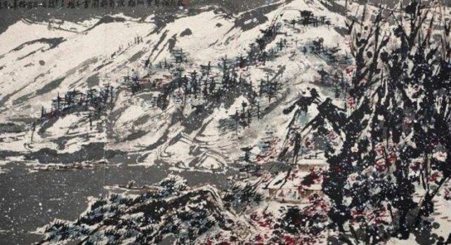 Le Snowy Mountain : Une oeuvre d'art de 3.7 millions de dollars aux poubelles