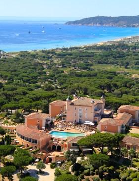 Le Château de la Messardière, au cœur de St-Tropez