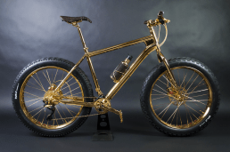 Gold mountain Bike