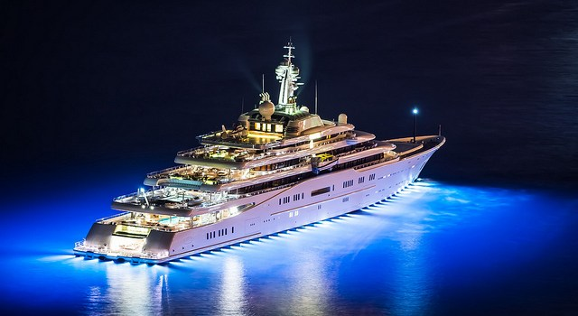 Top 5 des plus grands et plus beaux Yachts de 2014