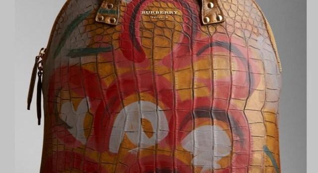 Burberry Bloomsbury : Nouvelle collection de sac en peau d'alligator
