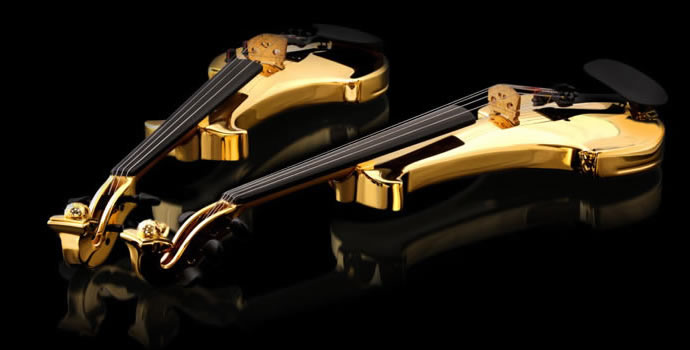 FUSE violon en or