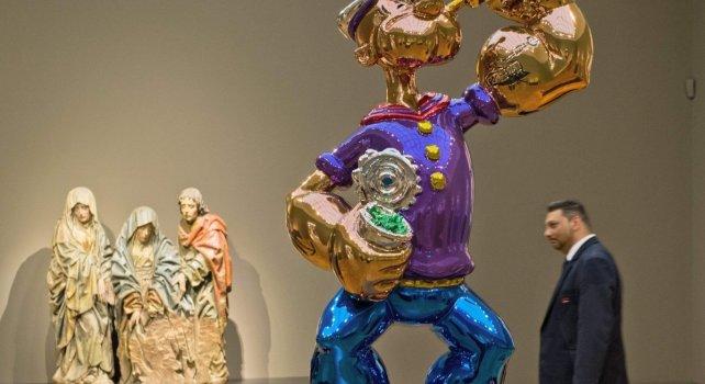 Jeff Koons : L'une des sculptures Popeye rachetée par l'hôtel Wynn