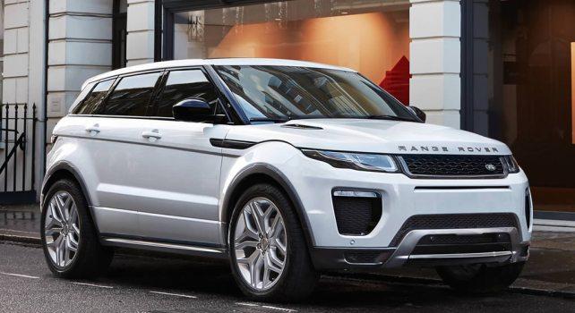 Range Rover Evoque 2016 : La marque se refait une beauté