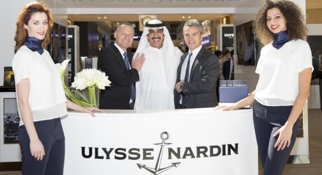 Ulysse Nardin : L'horloger ouvre sa plus grande boutique au Dubai Mall