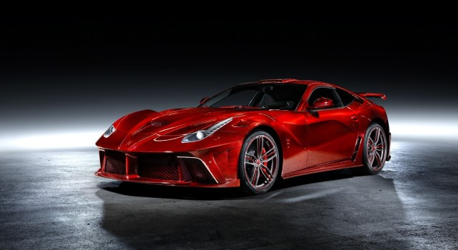 Ferrari F12 Revoluzione : Mansory dévoile une version sportive