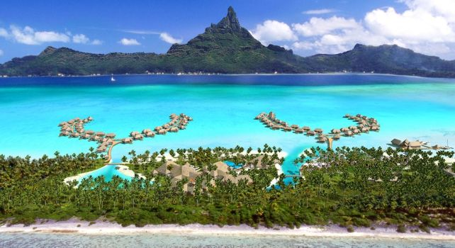 InterContinental Bora Bora Resort & Spa : Un hôtel au bord du lagon