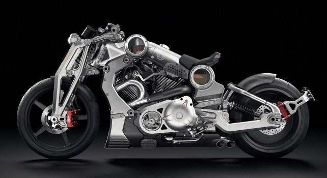 Confederate Motorcycles P51 G2 Combat Fighter : une moto au design terrifiant