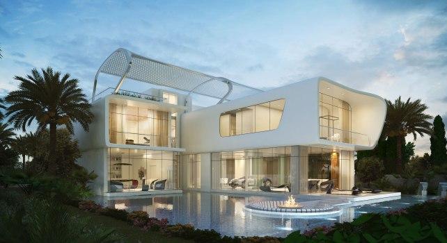 DAMAC Properties ETTORE 971 : Des villas inspirées par la Bugatti Veyron