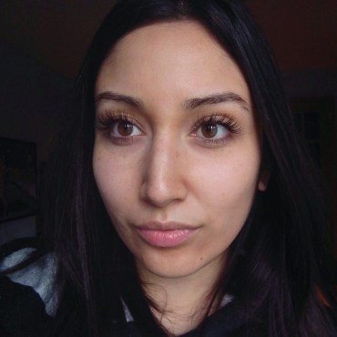 Week 1: After eyelash extensions (no mascara)