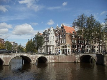 Amsterdam's romantic canals