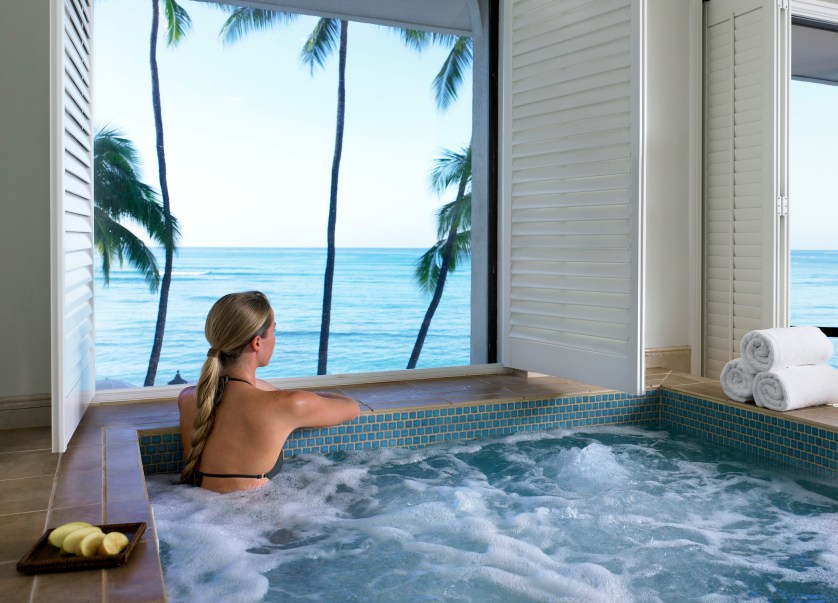 Moana Surfrider-Womens Whirlpool Courtesy of Westin Resort & Spa